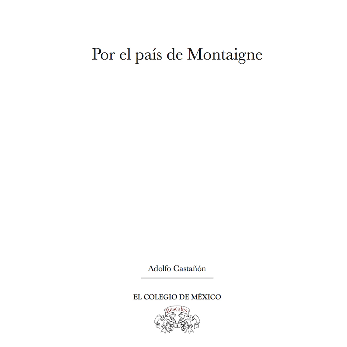 Por el país de Montaigne